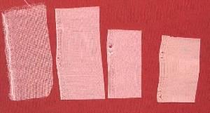 絵絹の密着スキャン画像