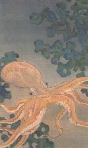 「蛸の夜」500*300 1995制作