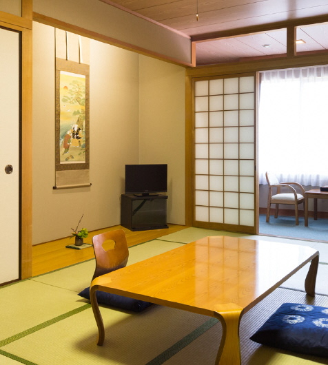 Japanese style guest room